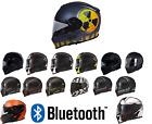 Torc T14 Mako Full Face Motorcycle Helmet   DOT & ECE - with Built In Bluetooth