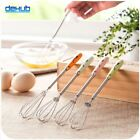 Kitchen Egg Beaters Stainless Steel Whisk Mixer For Coffee Egg Bake Egg Multifun
