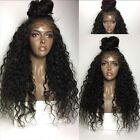 250% Density Pre Plucked  360 Lace Frontal Wigs Baby Hair Water Wave Remy Wigs