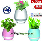 Wireless Smart Touch Plant Music Flower pot Bluetooth Play Intelligent Lamp