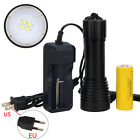8000 LM 4x XM-L2 LED Photograph Video Diving Flashlight Torch 1x 26650 Light BZ