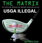 ILLEGAL CUSTOM MADE MATRIX NON CONFORMING LONG DRIVER (Select Loft-Flex-Shaft)
