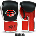 Boxing Gloves Leather Sparring Punching Bag Kickboxing Muay thai Training Mitts