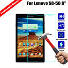 100% 9H Premium Tempered Glass Clear Protector Screen Cover For Lenovo Tablet
