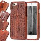 Natural Wooden Bamboo Phone Case Back Cover for iPhone 7 Plus 7 6s 5 5S SE