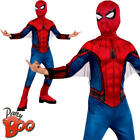 Spider-Man Homecoming Boys Fancy Dress Book Day Superhero Kids Childrens Costume