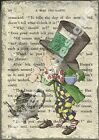 Alice In Wonderland A5 OR A4 size decoupage sheet - furniture children's room