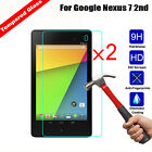 2Pcs Anti Shatter Tempered Glass Screen Protector Cover For Google Nexus 7 2nd