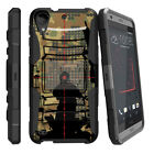 For HTC Desire Series Rugged Holster Belt Clip Case Armor Military War