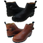 Polo Ralph Lauren Mens Fleetlands Pull On Buckle Strap Casual Ankle Boots Shoes