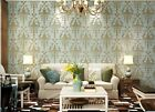 Vintage Style Embossed Environmental Friendly Non-woven Living Room Wallpape5.3㎡