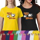 Womens Short Sleeve Cotton Tee Girls Show Me Your Boo Bees Print TShirt Gym Lot