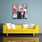 PERSONALISED PHOTO ON CANVAS. SQUARE SIZES. HIGH QUALITY PRINT, COLOUR & FRAME
