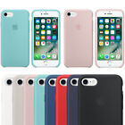 Genuine Original Ultra Thin Silicone Case Cover for Apple iPhone 7 6 6s Plus