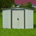 3 Sizes Garden Storage Shed All Weather Tool Utility Outdoor Patio Backyard Lawn cheap