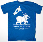 Chicago Cubs 2016 World Series Champions 'FLY THE W' T shirt Champs