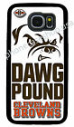 CLEVELAND BROWNS DOG PHONE CASE FOR SAMSUNG NOTE GALAXY 3 S4 S5 S6 S6 S7 EDGE S8 $14.88 USD on eBay