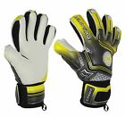 Football Goalkeeper Goalie GK Saver Champ 02 Grey Negative Cut Goalie Gloves