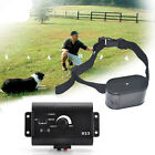 Dog Trainings Plastic Dog Training Collar Hidden Fencing System With EU/US Plug