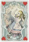 Alice In Wonderland A5 OR A4 size tissue decoupage sheet decopatch design print