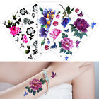 Chinese ink Painting Rose Flower Temporary Tattoo Body Art Beauty Makeup Sticker $0.99 USD on eBay