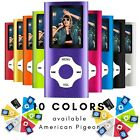 Digital Compact MP3 MP4 Player 64GB SD Photo Viewer Voice Recorder FM Radio USB