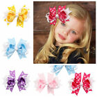 Wholesale 5 Colors Children's Hair Clips Wave Point Bowknot Hairpins Ornaments