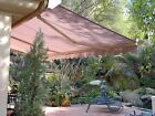 STRONG 20'w x10' Outdoor Patio Cover Yard Awning Retractable Sun Shade Shelter