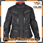 Oxford Monaco 1.0 Womens Waterproof Motorcycle Motorbike Jacket - Tech Black