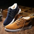 Men's Suede European style Shoes oxfords Suede Slip On Ankle Smart Casual