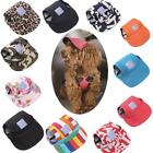 ML Fashion Pet Dog Baseball Hat Canvas Cap Small Dog Outdoor Accessories Summer