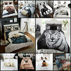 Duvet Cover Sets 3D Animal Print Bedding PillowCases King Size Double Single New