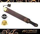 "Professional Quality Sharpening Strop Made of Real Leather 3"" Wide and 22"" Long"