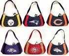 NFL TEAM LOGO SWAG STYLE WOMEN'S HANDBAD PURSE BAG 2 TONE ASSORTED TEAMS on eBay