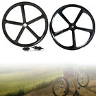 700c 5-Spoke Fixie Fixed Gear Single Speed Bike Mag Front Rear Wheel Set Rim USA