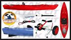Wilderness Systems Aspire 105 Kayak Red  Portage Package