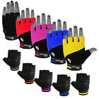 Weight Lifting Gloves Leather Gym Exercise Body Building Gloves Straps Towel