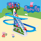 2017 Kids Gift Cartoon Peppa Pig Music Ladder Track Climbing Stairs Educational