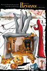 Salvador Dali BRs canvas print giclee 8X12 & 12X17 poster reproduction