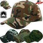 Plain Solid Camo Washed Cotton Polo Style Baseball Ball Cap Caps Hat Adjustable