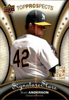 2009 Upper Deck Signature Stars Top Prospects - You Choose - *WE COMBINE S/H*