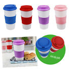 Travel Mug Cup Coffee Tea Hot Drink Office Lid Insulated Car Leakproof Non Spill