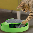 Cat Mouse Play Toy with Scratching Post Pad for Pup Animal Interactive Toys