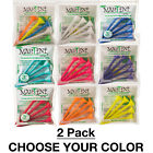 "2 PACKS OF 5 Martini 3-1/4"" Durable Plastic Golf Tees - CHOOSE YOUR COLOR!"
