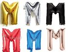 "16""/30"" Large Foil Letter Number Balloons Birthday Wedding Party + Free Balloons"