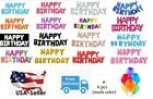 """16""""/30"""" Large Foil Letter Number Balloons Birthday Wedding Party + Free Balloons"""