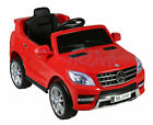 MERCEDES BENZ ML350 LICENSED 12V KIDS RIDE ON JEEP REMOTE CONTROL CAR / CARS <br/> * OPENING DOORS * LED LIGHTS * FRONT/REAR SUSPENSION *