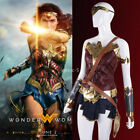 2017 Movie Superhero Wonder Woman Diana Prince Dress Cosplay Costume Halloween