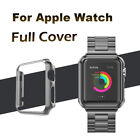 Apple Watch Series 5/4/3/2/1 Screen Protector Plated Case Cover For 44/42/40/38