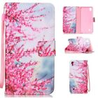 ZD MAGNETIC FLIP LEATHER BOOK WALLET CASE COVER For Various Phones WINTERSWEET